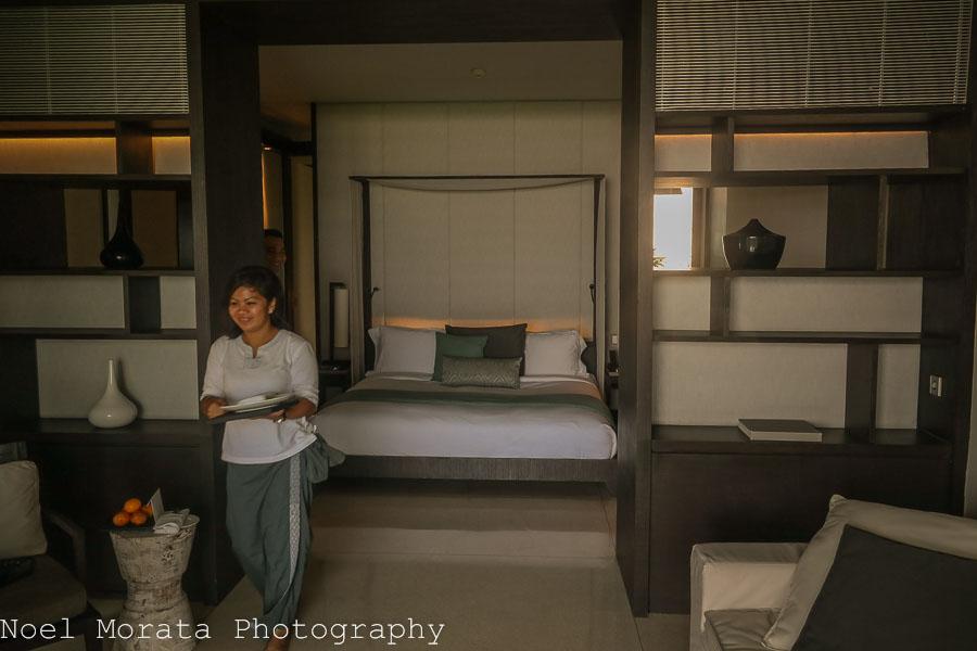 Private villas and interior at Alila Soori resort, Bali