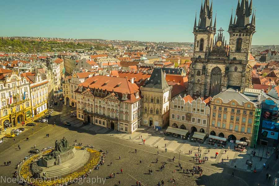 The main square of Prague - 15 stunning views of Prague