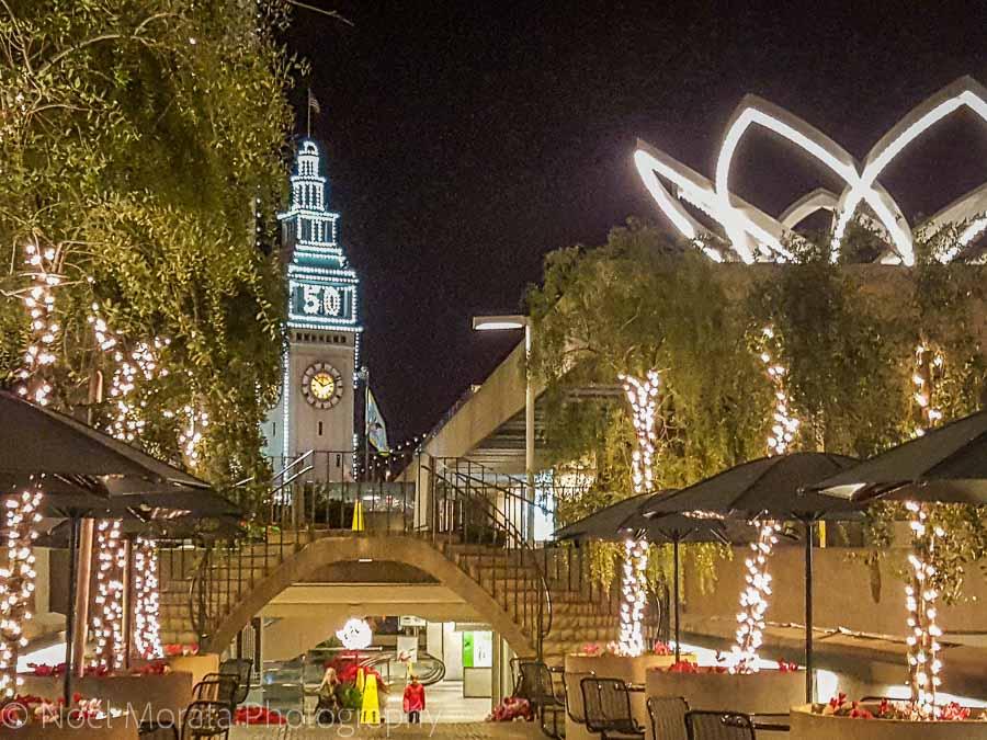 Embarcadero Plaza - Christmas in San Francisco