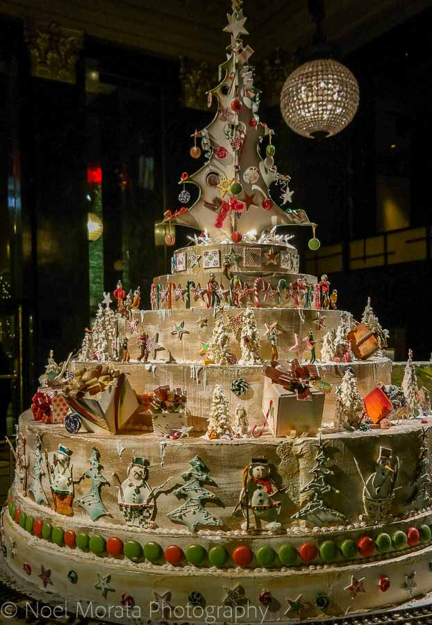 St Francis Gingerbread house - Christmas in San Francisco