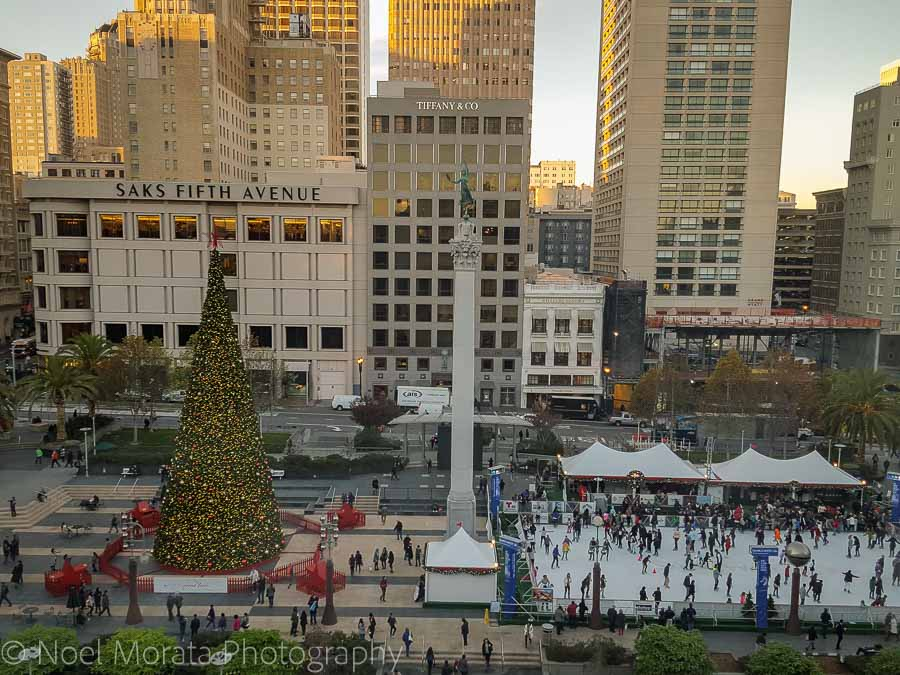 Union Square - Christmas in San Francisco