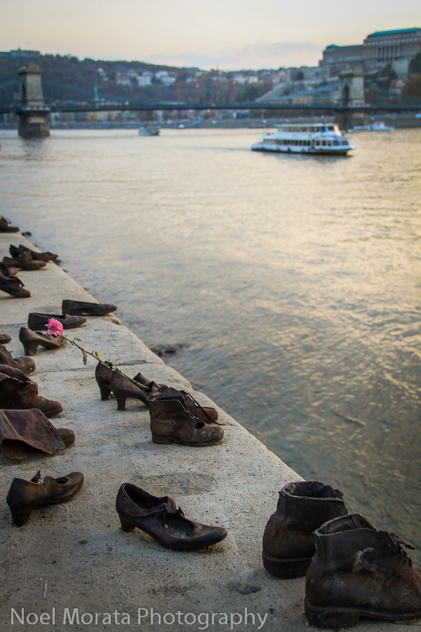 Holocaust memorial on the Danube - Best places to photograph Budapest, Hungary