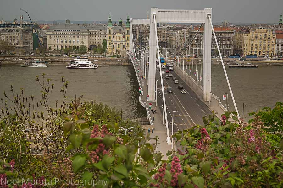 Views from Gellert Hill - Best places to photograph Budapest, Hungary