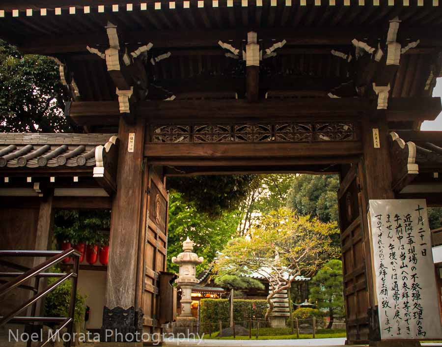 Nogi Shrine in Tokyo - Best places to photograph Tokyo Japan