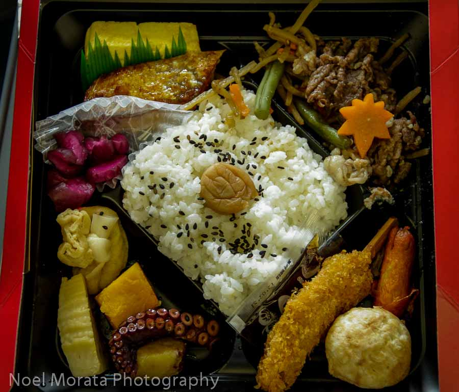 Bento box at Dotonbori - Top food destinations around the world