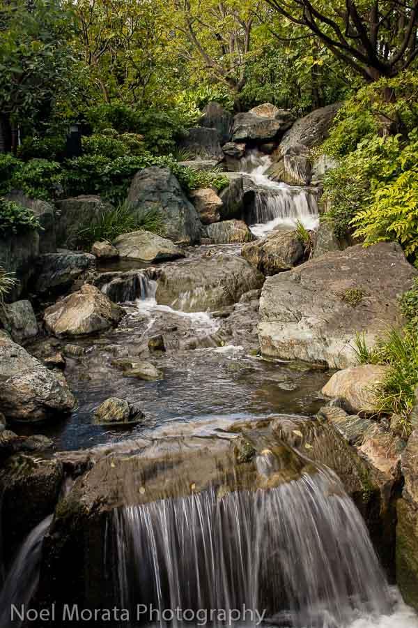 Water features at Senso-Ji in Asakusa, Tokyo