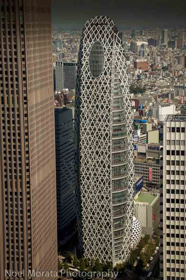 Contemporary architecture and views in Shinjuku, Tokyo