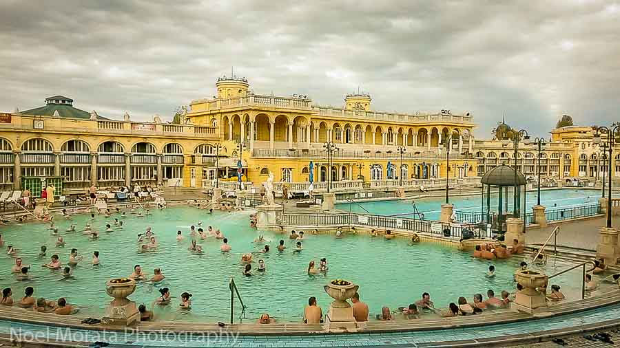 Széchenyi Thermal Bath best places to photograph Budapest