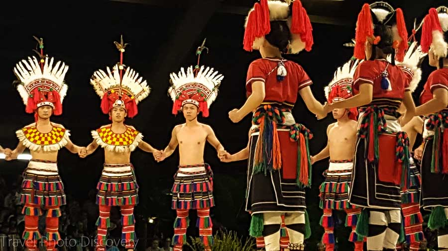 Taiwanese tribal performance at Merrie Monarch Festivals 2016 Ho'ike night