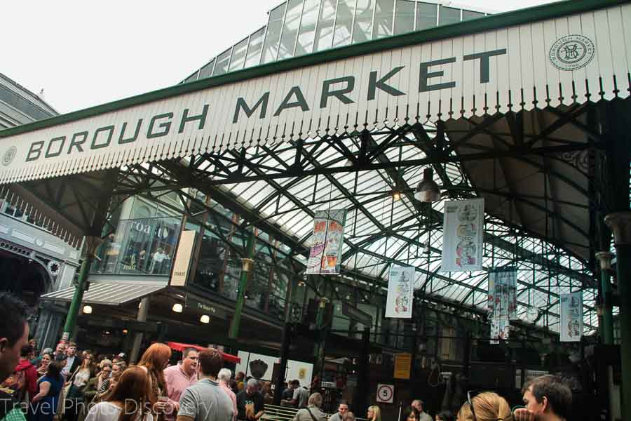 Borough market places to visit in London