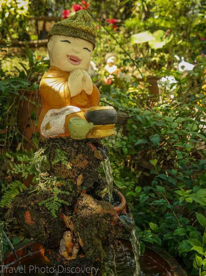 Rock gardens Visiting Wat Phra That Doi Suthep