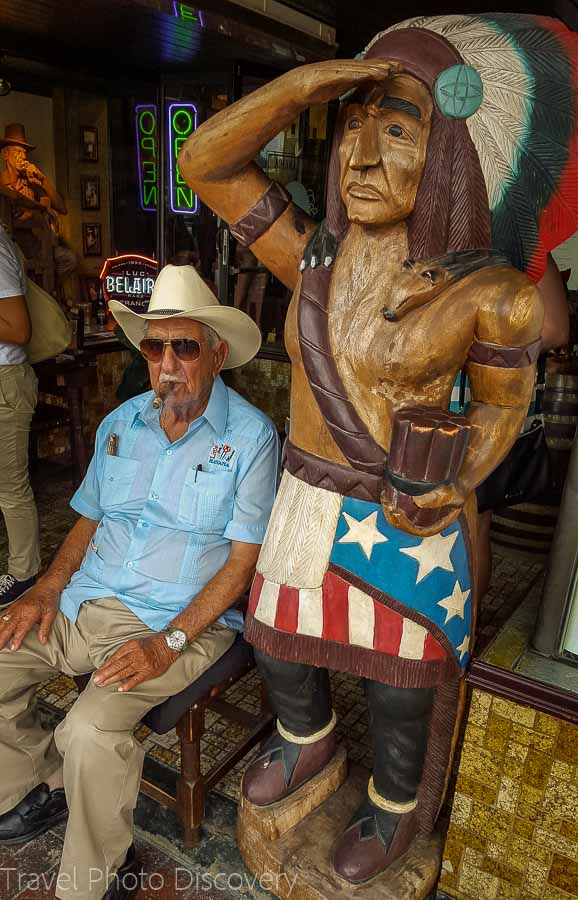 Little Havana cigar store in Miami food tour