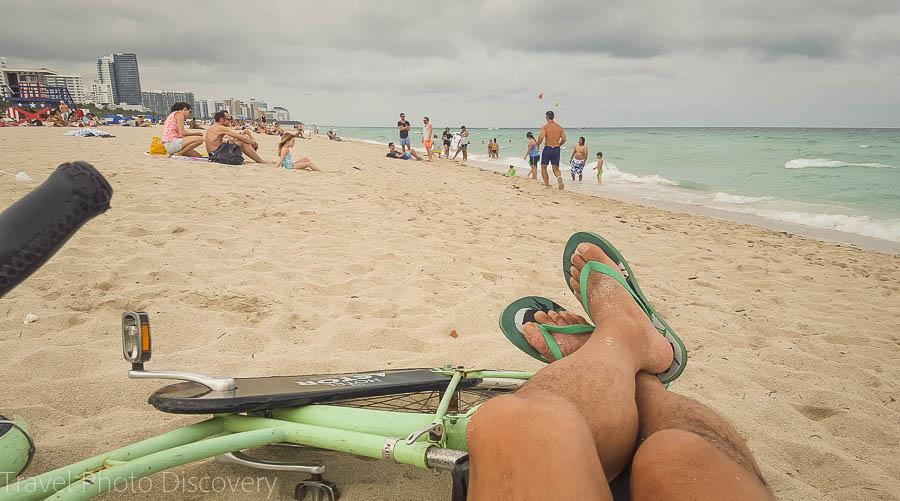 Beach time at South Beach, Miami