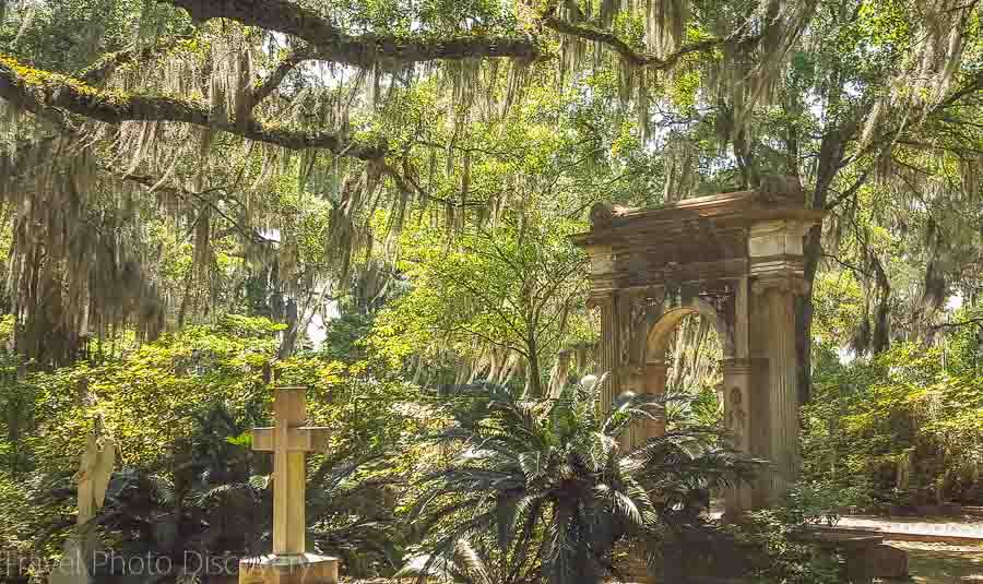 Johnny Mercer family plot at Bonaventure Cemetery Savannah