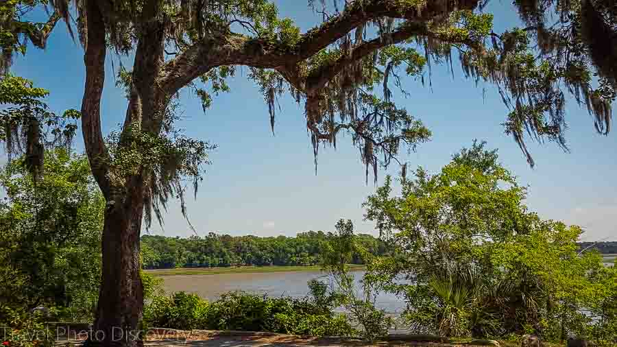 Wilmington River at the Bonaventure Cemetery, Savannah