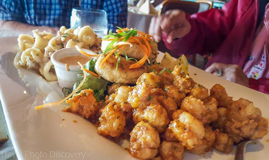 Appetizers at Scott's Seafood Grill and Bar at Jack London Square