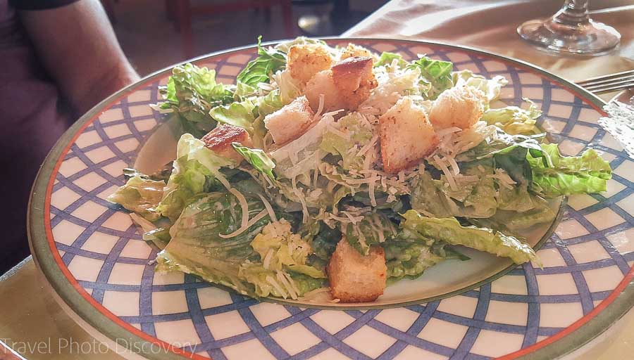 Scott's Seafood Grill and Bar Caesar salad
