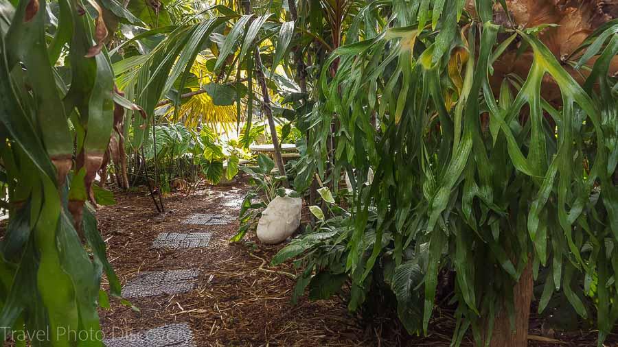 Garden walk Miami Beach Botanical Garden
