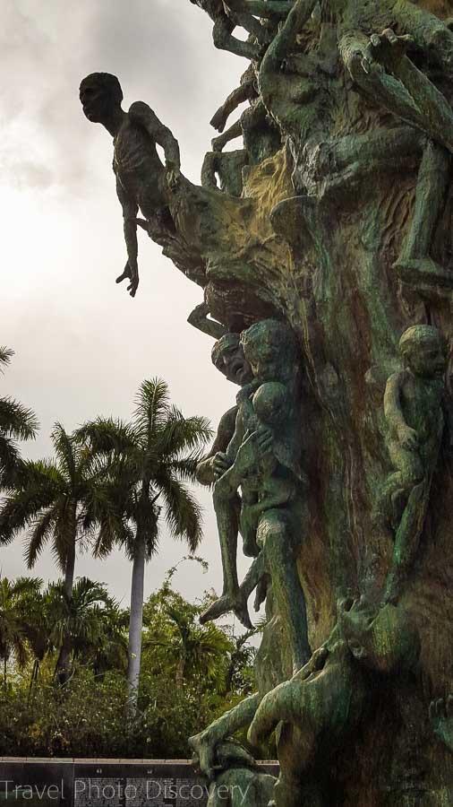 Holocaust sculpture Holocaust Memorial Miami Beach
