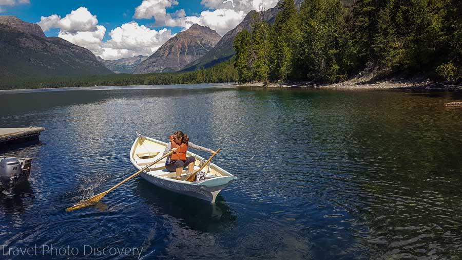 Glacier National park lake MacDonald Northwest national park road trip