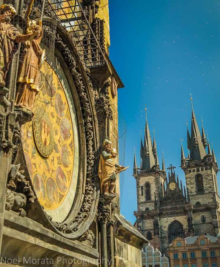 the Astronomical Clock of Prague