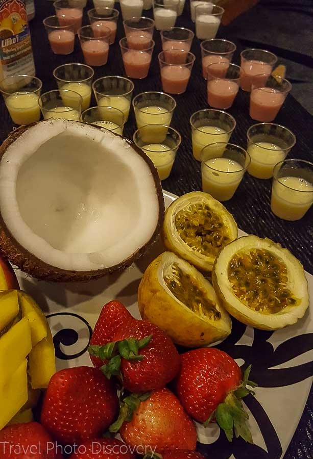 Tropical Lassi drinks Taste of the Hawaiian Range