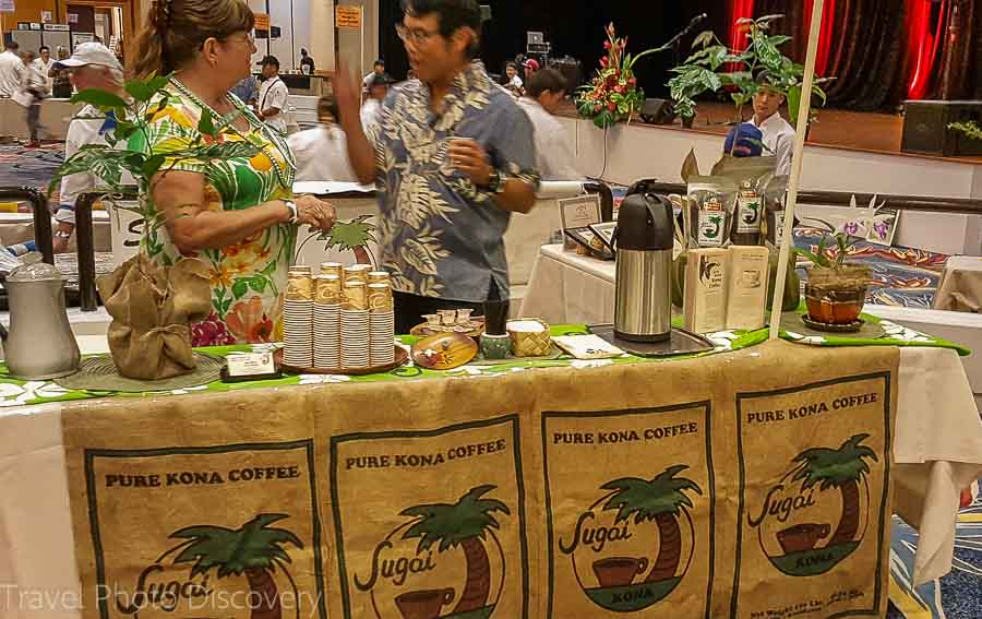 Kona coffees Taste of the Hawaiian Range