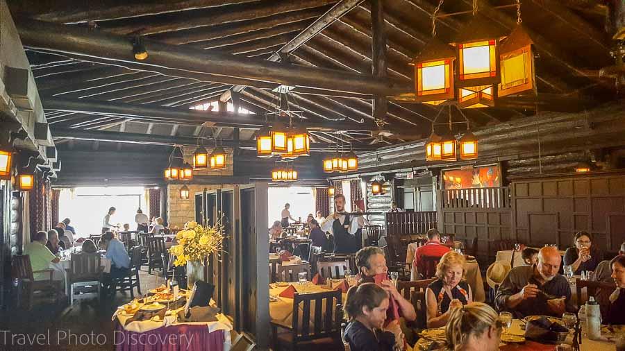 El Tovar dining room Grand Canyon Village