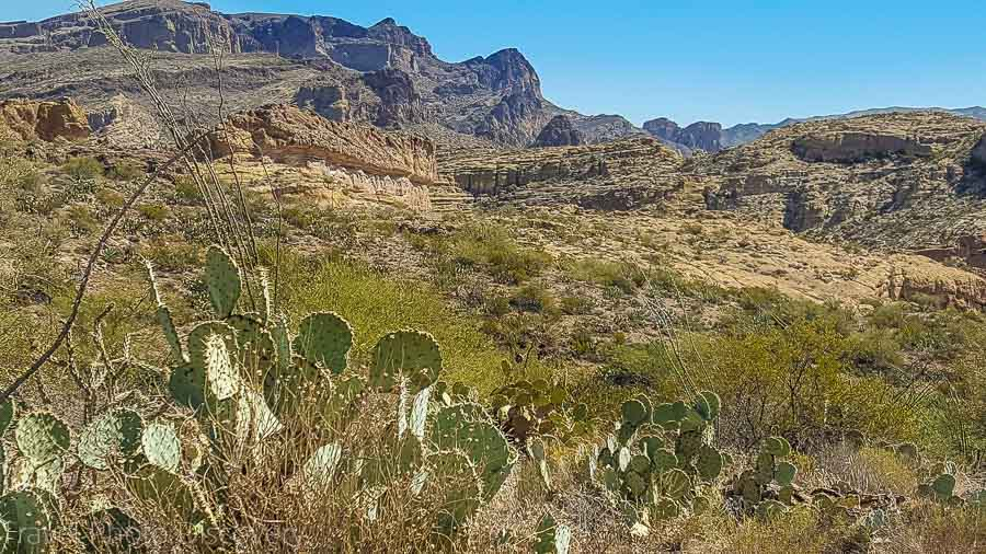 Apache trail in Phoenix Arizona