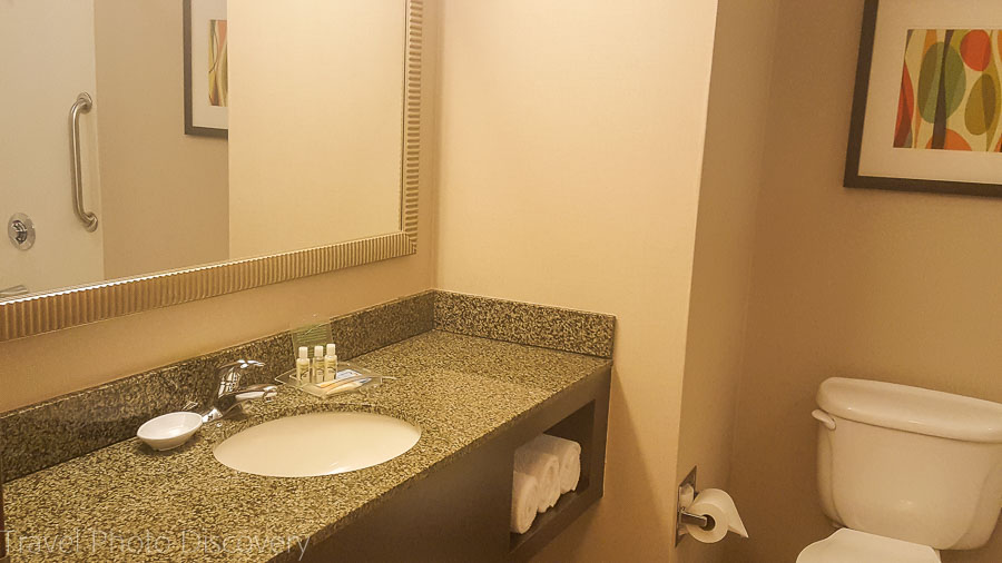 Bathroom area at Holiday Inn, Chandler Arizona