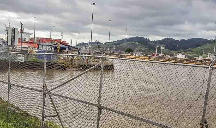 Panama Canal locks Zip line adventure tour Panama City, Panama