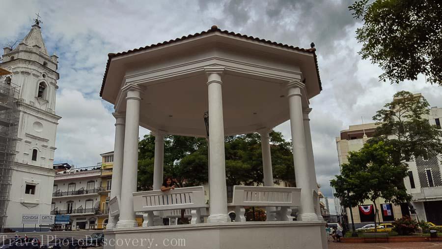 Plaza de la Independencia Visiting Panama City's Unesco site Casco Viejo