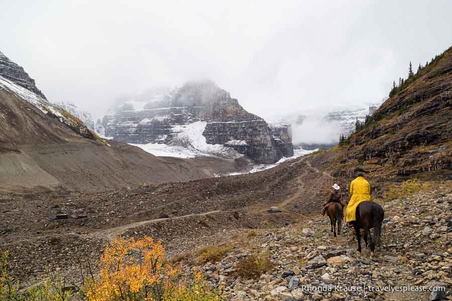Adventure and eco experiences for 2017 horseback riding in Lake Louise