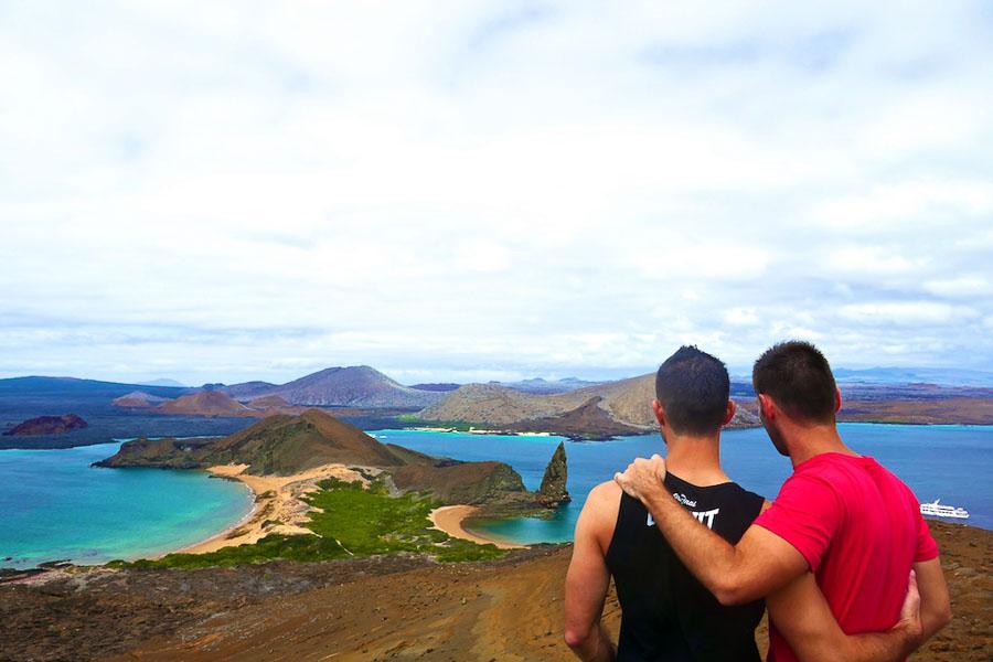 Romantic getaways around the world exploring the Galapagos