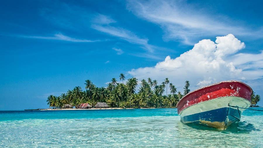 Romantic getaways around the world San Blas Islands