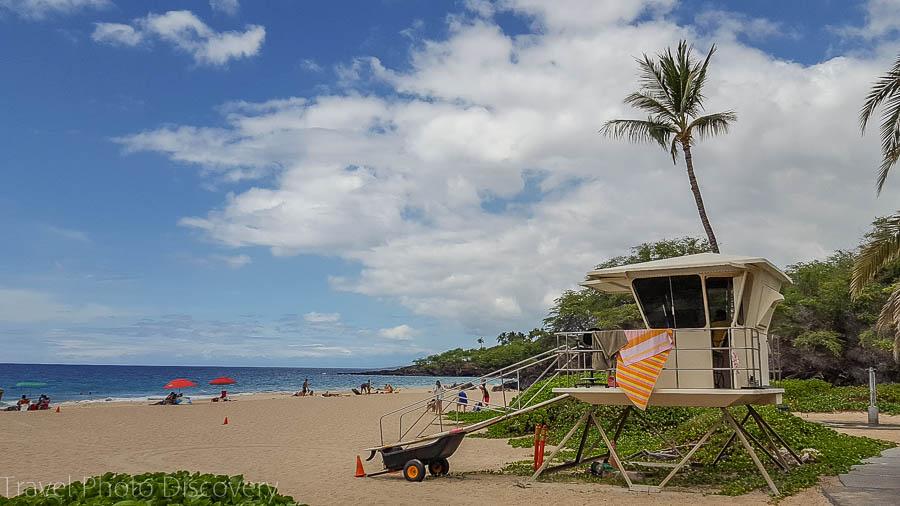Big Island at Hapuna Beach and spending the day in the Kohala coastline