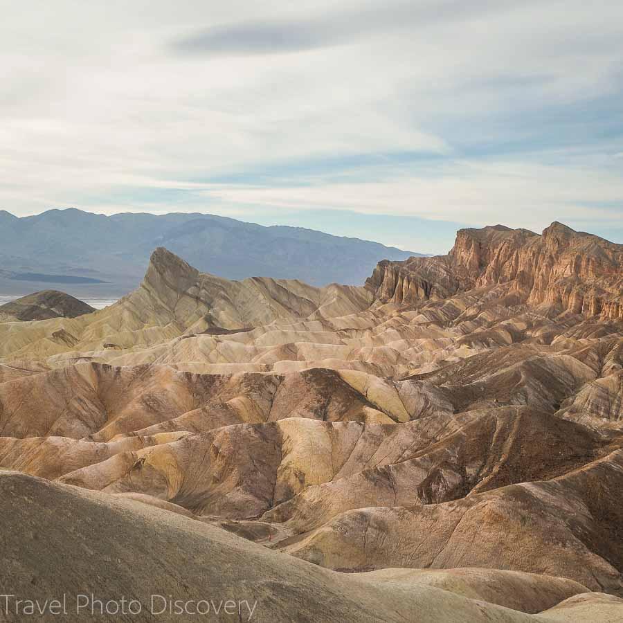 Zabriskie Point view point at Death Valley National Park