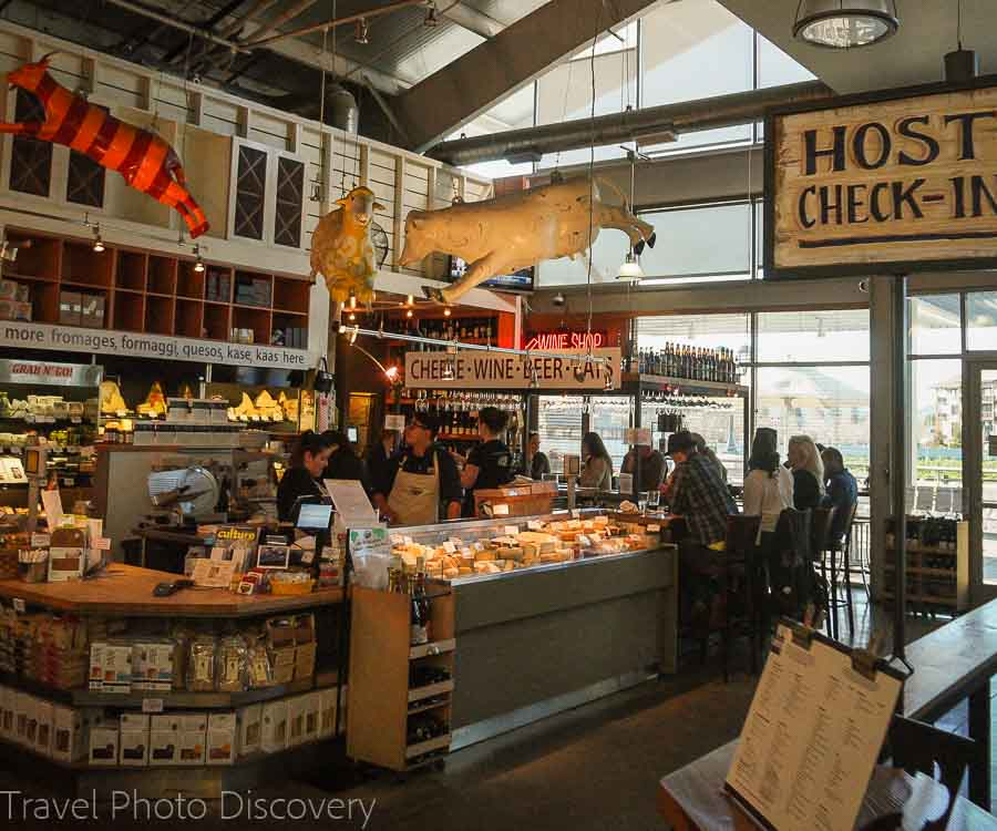 Oxbow Public Market restaurants in downtown Napa