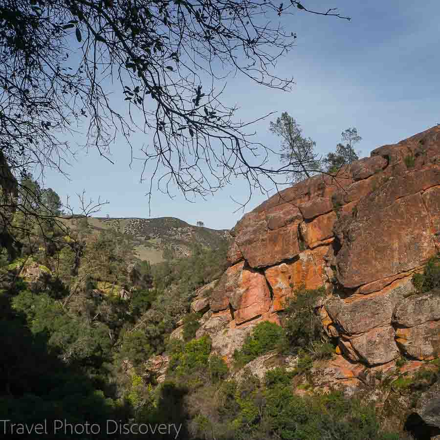 Hike to Balconies cave from Bear Gulch at Pinnacles National park