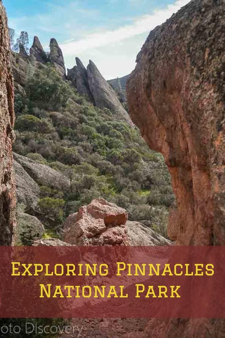 Exploring Pinnacles National park in California