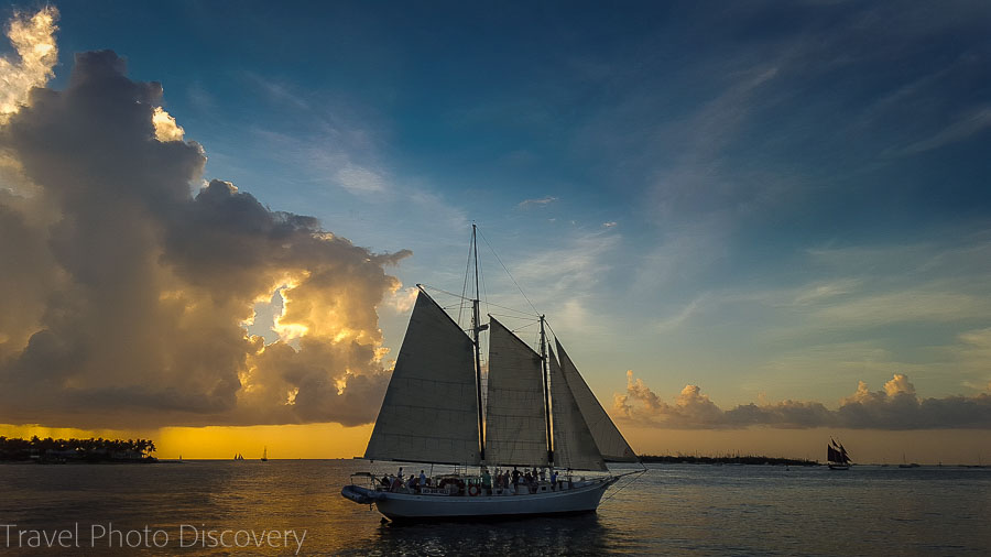 Sailing in Key West, Florida Keys
