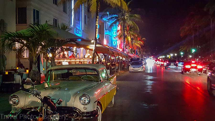 Top things to do in Miami Ocean Drive at night