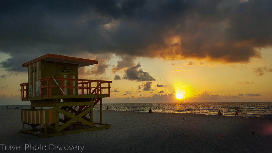 Enjoying sunrise at Miami Beach top things to do in Miami
