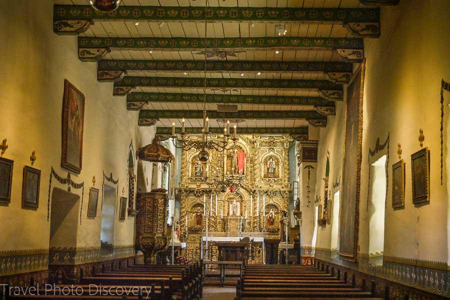 Serra Chapel at San Juan Capistrano Mission
