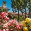 Visiting San Juan Capistrano Mission in California