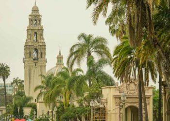 Architecture at El Prado Exploring Balboa Park in San Diego