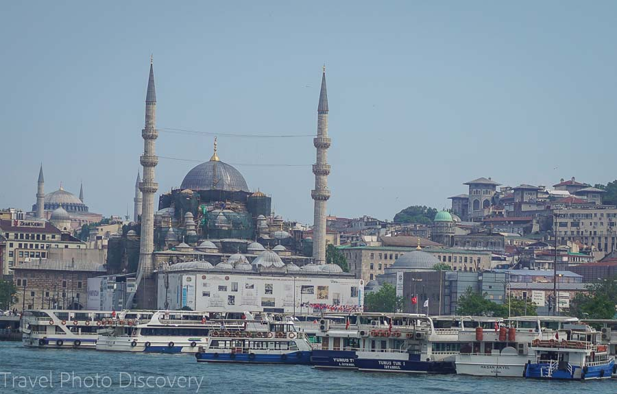 Mosques and historic monuments of central Istanbul