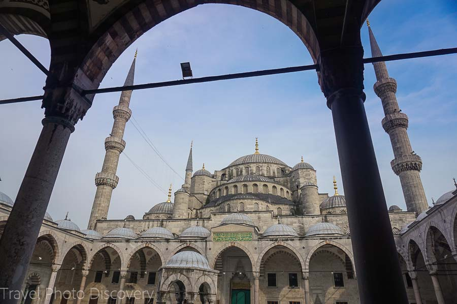 The Blue Mosque at Sultanhamet Istanbul
