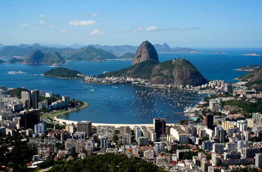 View from Christ the Redeemer Top things to do in Rio de Janeiro
