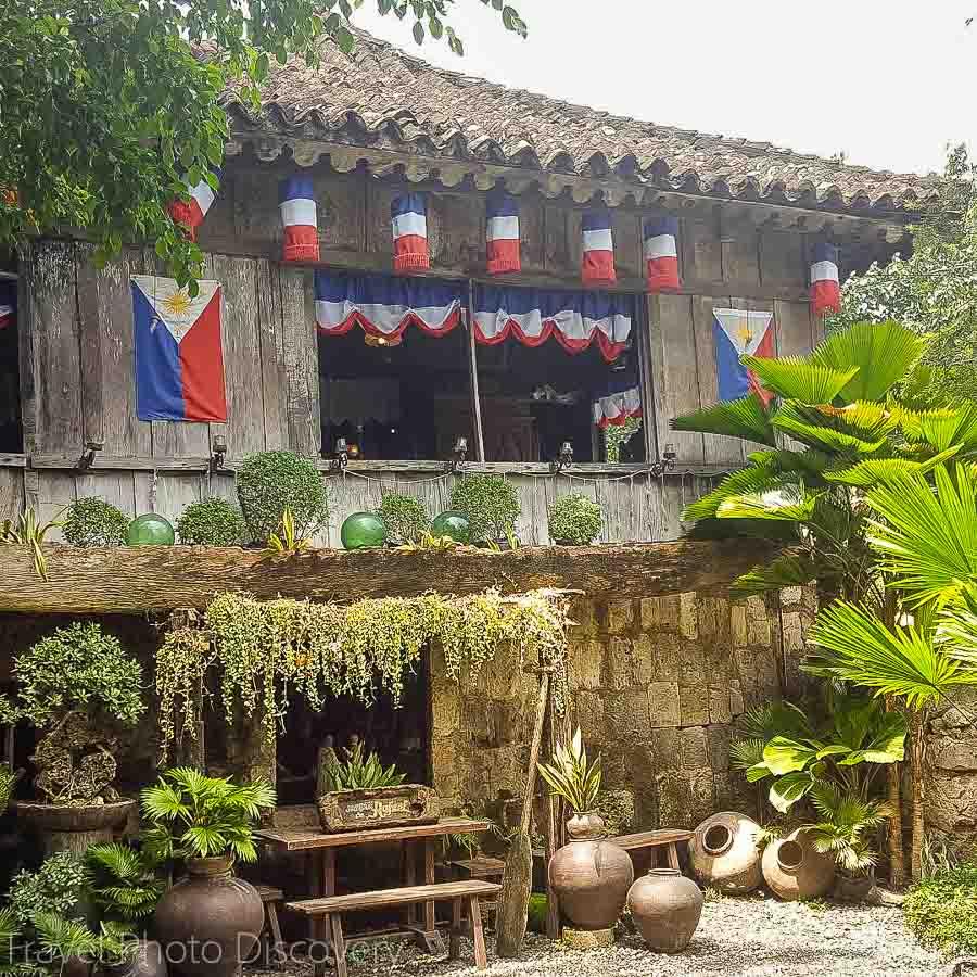 A classic Filipino colonial home in Cebu